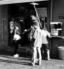 Churrasco Grego (De Santis) Tags: camera brazil food white black branco brasil canon greek candid comida centro sé preto sp barbecue praça paulo são churrasco metrô estação escondida grécia grego downtonw sx130