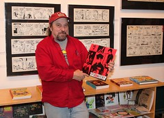 Larry Reid With Spokanarchy! Album (matthetube) Tags: red records movie album vinyl georgetown larry lp reid kelly walt soundtrack pogo fantagraphics spokanarchy
