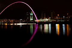 (Martin Bishop Photography) Tags: bridge reflections river newcastle sage tyne gateshead newcastleupontyne