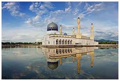 Masjid Bandaraya Kota Kinabalu (Vin PSK) Tags: mosque malaysia sabah floatingmosque kotakinabaru citymosque mygearandme