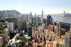 Hong Kong Central (b80399) Tags: china city urban building skyline skyscraper island hongkong central landmarks center hong kong tall wan sha icc chai tsim tsui metropole aisa
