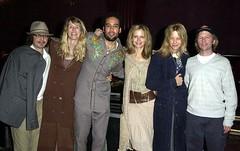 Beck and Laura Dern and Ben Harper and Kelly Preston and Meg Ryan and David Spade (no/body) Tags: david laura ben beck ryan meg preston kelly hansen harper spade dern