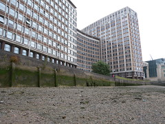Camelford House (Thames Discovery Programme) Tags: london archaeology foreshore vauxhall thamesdiscoveryprogramme flm01