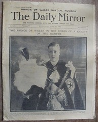 DAILY MIRROR (old school paul) Tags: vintage newspapers frontpage 1911 dailymirror