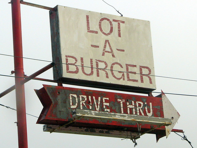 Lot-a-Burger sign