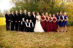 The beautiful wedding party (Mindubonline) Tags: wedding church cake groom bride tn nashville tennessee ceremony marriage reception bouquet nuptials mindub mindubonline timhiber