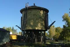 Chama Water Tank (Larry Myhre) Tags: old railroad newmexico railway roadtrip watertank chama cumbrestoltec denverriogrande