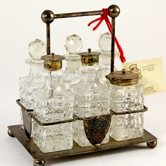 53. Antique Cruet Set