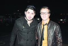 Jorge Cazarez y Edgar Mendiola