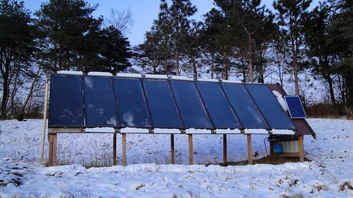 Solar array - Hazelnut Valley Farm Tour
