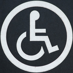 Disabled acccess (Leo Reynolds) Tags: xleol30x squaredcircle wheelchair signsafety signinformation sqlondon canon eos 7d 0004sec f45 iso320 190mm sqset072 hpexif xxx2012xxx sign