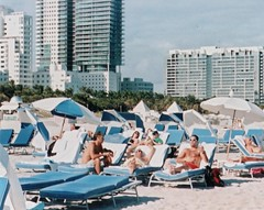 South Beach (Phillip Pessar) Tags: film beach analog minolta florida kodak miami south 110 400 expired sobe kodak400 autopak 460t