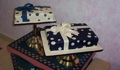 Ponques regalos gemelos (PaulitasArteyAzucar) Tags: tortas paulitas ponques