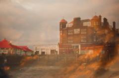 Columba in the Sky (Sugar Crisp) Tags: winter colour film 35mm scotland exposure kodak january double contax oban 100 aria 2012 ektar