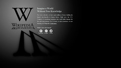 Wikipedia-SOPA-PIPA-Blackout-18-Jan-2012 by DaveHolmes, on Flickr
