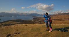 Loch Lomond from Conic Hill (Hugh Spicer / UIsdean Spicer) Tags: uk winter scotland february lochlomond 2010 westhighlandway conichill