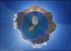 My tiny Planet - Tso (saish746) Tags: india lake photoshop 360 panoramic planet kashmir tso leh degree ladakh pangong