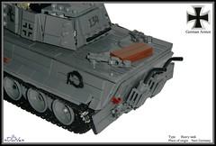 Lego ww2 -Königstiger- (=DoNe=) Tags: legoww2königstiger