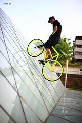 RH+O wall ride (RH+O fixed gear specialist!) Tags: bike bicycle speed track culture taiwan gear single k2 fixed taichung fixie trick skid rho wwwrhplusocom