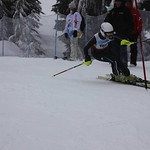 Teck Enquist Slalom, January 2012, Mt. Seymour - Cheyenne Ling (WMSC) PHOTO CREDIT: Steve Fleckenstein