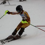 Teck Enquist Slalom, January 2012, Mt. Seymour - Cameron Alexander (WMSC) PHOTO CREDIT: Steve Fleckenstein