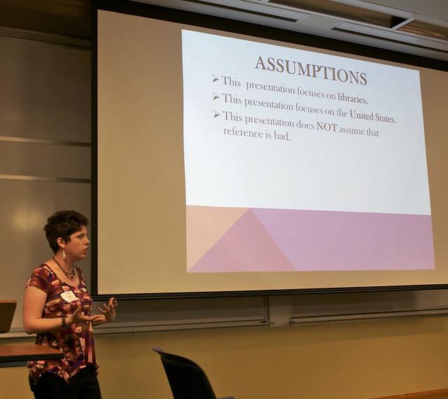 Reference presentation asssuptions