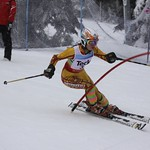 Teck Enquist Slalom, January 2012, Mt. Seymour - Esme MacTavish (WMSC) PHOTO CREDIT: Steve Fleckenstein