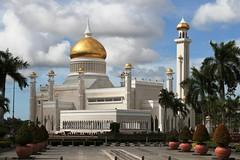 Omar Ali Saifuddien Mosque (jimarx) Tags: muslim islam mosque brunei wam empirehotel jimarx omaralisaifuddienmosque bandarseribergawan theworldarchitecturemap