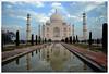 177 - Magnificence in Stone - Taj Mahal (ArvinderSP) Tags: india taj mahal tajmahal agra asp arvinder mygearandme mygearandmepremium mygearandmebronze mygearandmesilver mygearandmegold d3100 magnificenceinstone