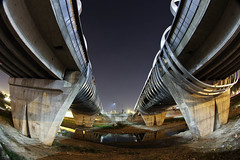 THE FUTURE (Rober1000x) Tags: bridge argentina rio architecture puente arquitectura cordoba civiccenter 2012 centrocivico arquitecturaargentinacontempornea