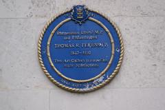 Photo of Thomas Ferens blue plaque