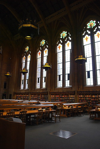 University of Washington:  Suzzallo Library Reading Room