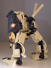 Walker- back (Legonardo Da Bricki) Tags: lego walker da bricki legonardo