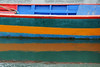 St-Cado - Boat (Detail) (Drriss & Marrionn) Tags: travel blue red orange abstract france reflection green water boats brittany bright outdoor bretagne westerneurope wow1 wow2 wow3 wow4 stcado wow5 wowhalloffame ringexcellence dblringexcellence