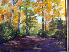 Early Autumn (Marj Morani) Tags: paintings shore marj eastern morani