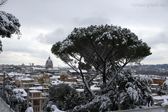 """Rome, snow • <a style=""""font-size:0.8em;"""" href=""""http://www.flickr.com/photos/89679026@N00/6818281995/"""" target=""""_blank"""">View on Flickr</a>"""