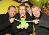 Comedians Eric Lalor, Jason Byrne & Colm Murphy pictured at the Irish Premiere of Disney's 'The Muppets' in the Savoy cinema Dublin. Photo: Anthony Woods