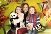 Romy, Lorraine & Emelia Keane pictured at the Irish Premiere of Disney's 'The Muppets' in the Savoy cinema Dublin. Photo: Anthony Woods