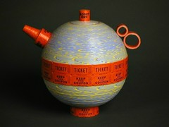 Ticket Roll Teapot (all things paper) Tags: sculpture paper tickets teapot papersculpture