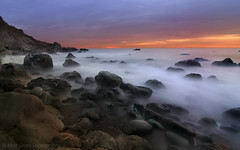 Pacific Mists (Matt Granz Photography) Tags: ocean california sunset wallpaper seascape motion blur beach nature misty clouds landscape rocks long exposure pacific earth postcard alien shoreline marincounty muir hwy1 mattgranz