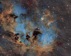 Nebula IC410 and star cluster NGC1893 in Auriga (HST version) (Oleg Bryzgalov) Tags: deepspace astrophoto auriga ic410 Astrometrydotnet:status=solved ngc1893 Astrometrydotnet:version=14400 competition:astrophoto=2012 Astrometrydotnet:id=alpha20120204187211