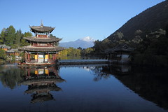 - black dragon lake (seetyoong) Tags: china city canon landscapes cityscape cityscapes 7d yunnan lijiang   canonefs1755mmf28isusm canoneos7d canon7d seetyoong