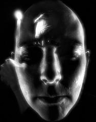 Lasting Impression (DerrickT) Tags: bw self futurefilm anduncle