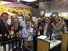 Prowein 2014 with our importer VIF.de and Frank Roeder MW