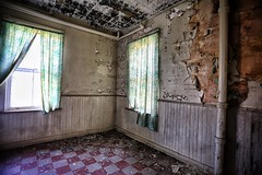 Home for the Aged and Infirm (lizcnyc1) Tags: creepyplaces abandonedroom abandonedhudsonvalley