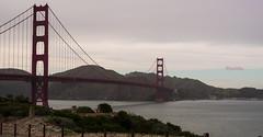 Golden Gate (lpshikhar) Tags: sanfrancisco california street sunset portrait sky blackandwhite birds landscape photography scenic goldengatebridge baybridge bayarea
