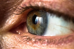 Eye wide open (ViTRo_982) Tags: blue macro eyes details dettagli occhio iride