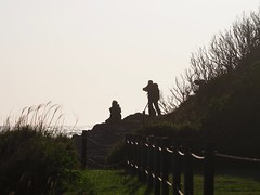 Photographers (dayonkaede) Tags: people man person photographers olympus human f28 each em1 mc14 m40150mm