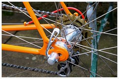 Royce Rear Hub. (Paris-Roubaix) Tags: street bicycle sport bar vintage flying san glasgow scottish bikes front valentine racing tape changer scot pro brakes marco gran rolls universal regina michelin royce 1a criterium 65 lever hubs freewheel campagnolo derailleur axial muray ambrosio cinelli centrepull tressorex mod61