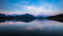 Lake Alserio Sunset (Ennio66) Tags: lake landscape lago italia tramonto lombardia paesaggio 6d eos6d alserio lagodialserio